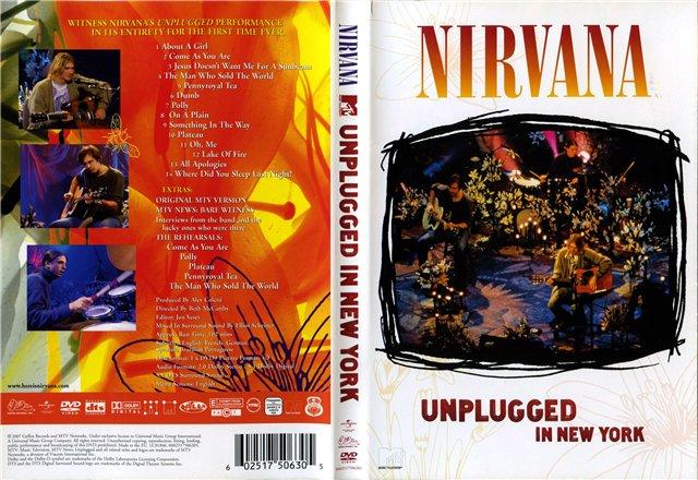 Nirvana - DVD Mtv Unplugged in New York (1994) - Taringa!