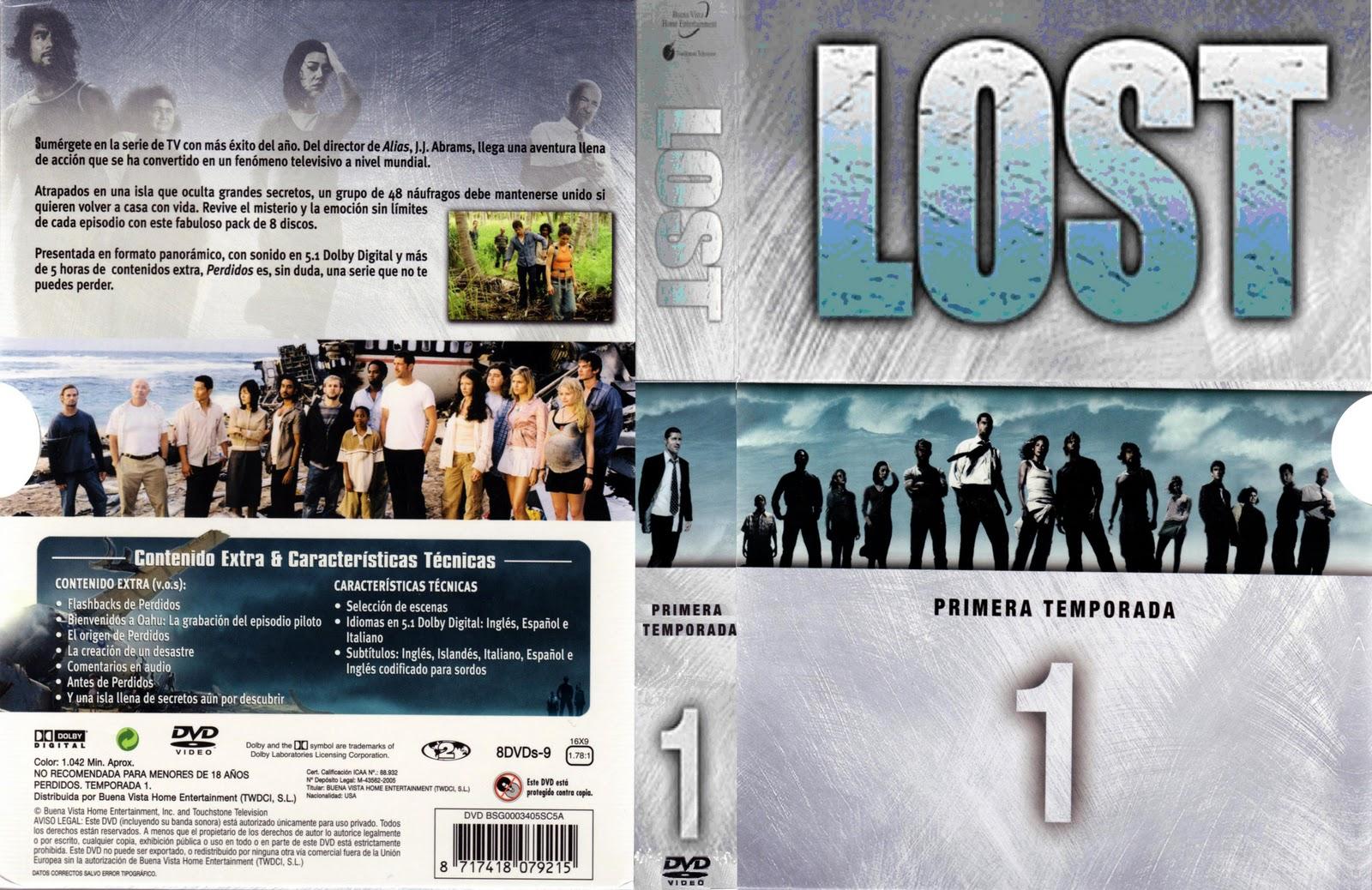 186 lost 1ta temporada 7 dvd 180 s descargando con manu