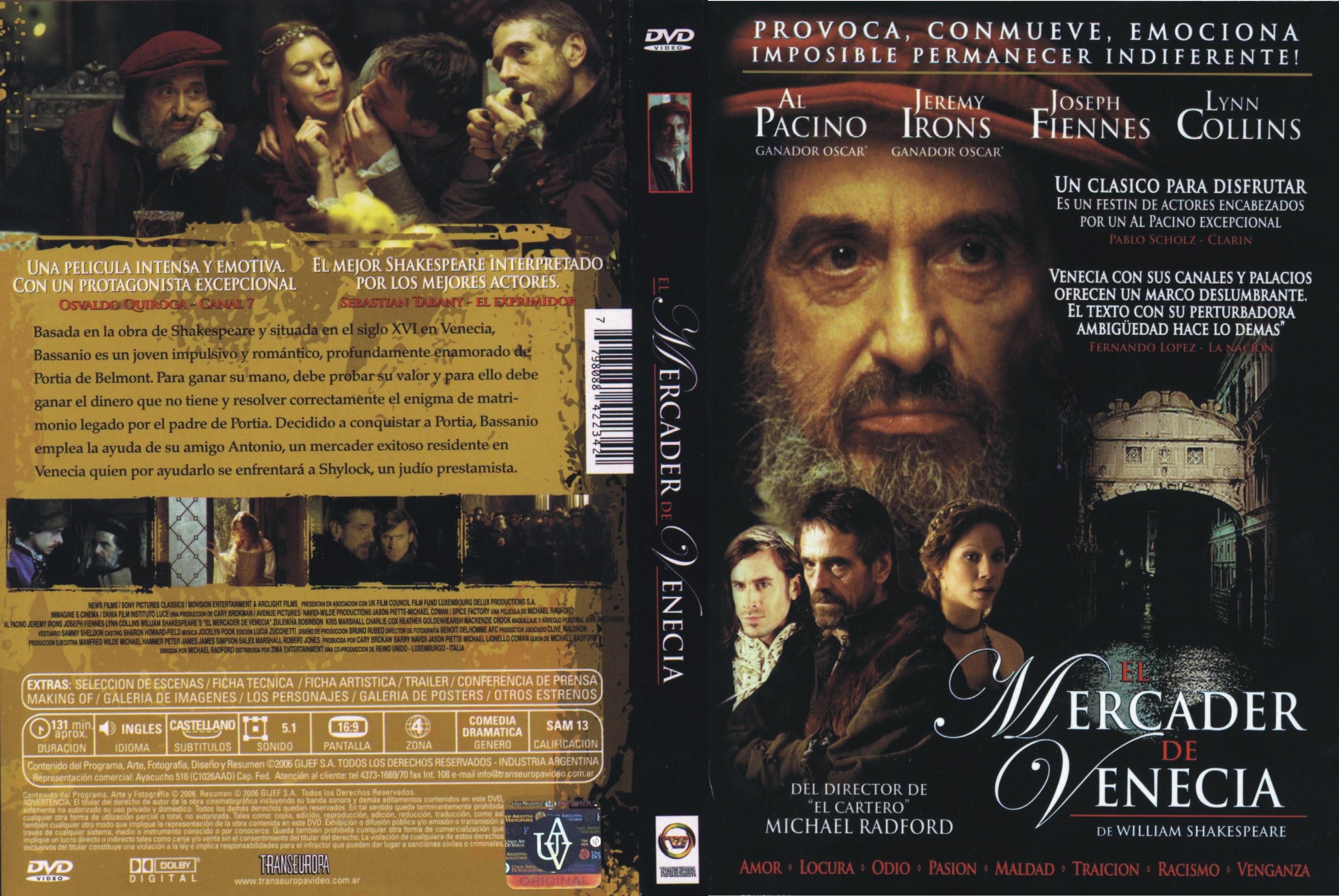 Theplanetdvd descargando con manu pelis dvd full latino for El mercader de venecia