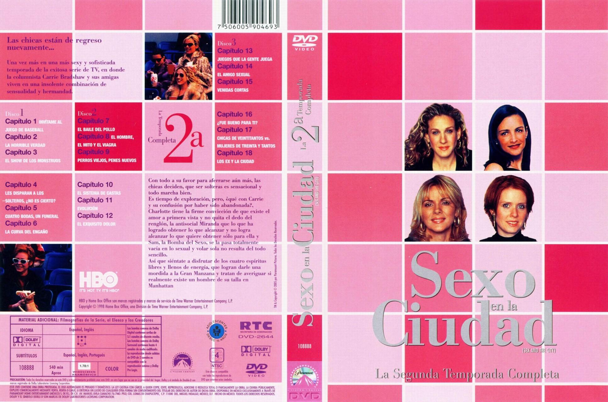 Sexo y la ciudad cuarta temporada