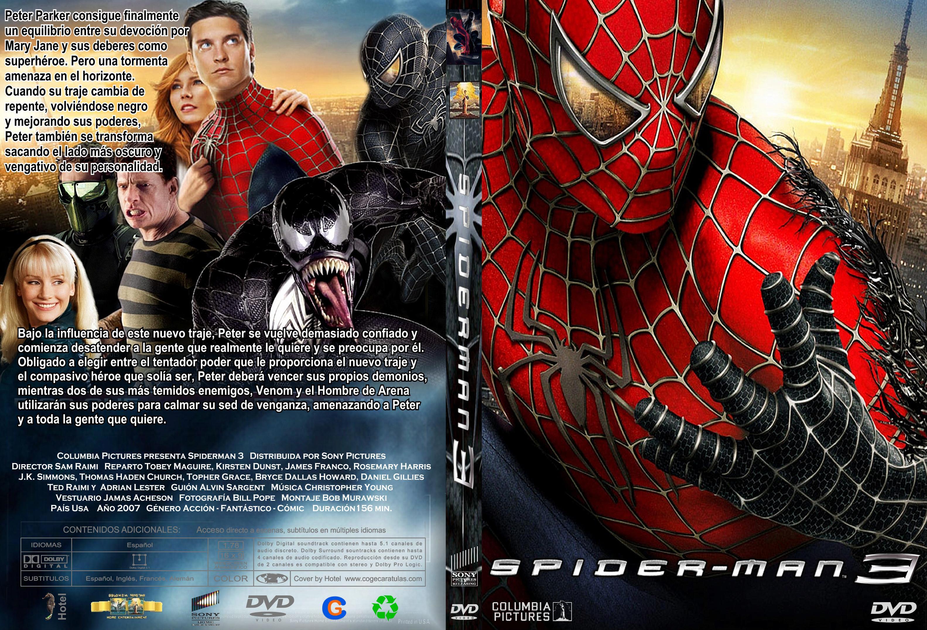www spiderman3 com ar: