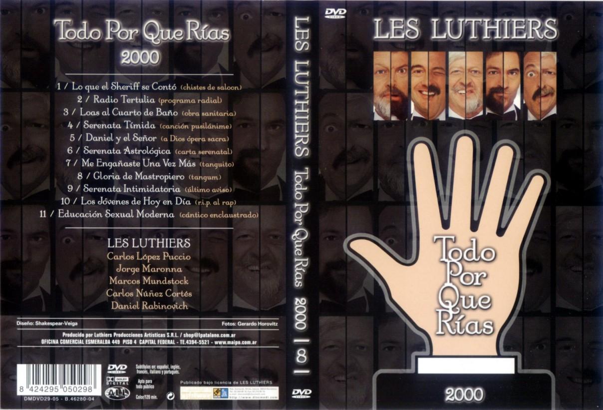 Les luthiers todo por que rias 1999 dvd mega identi for Que es un luthier