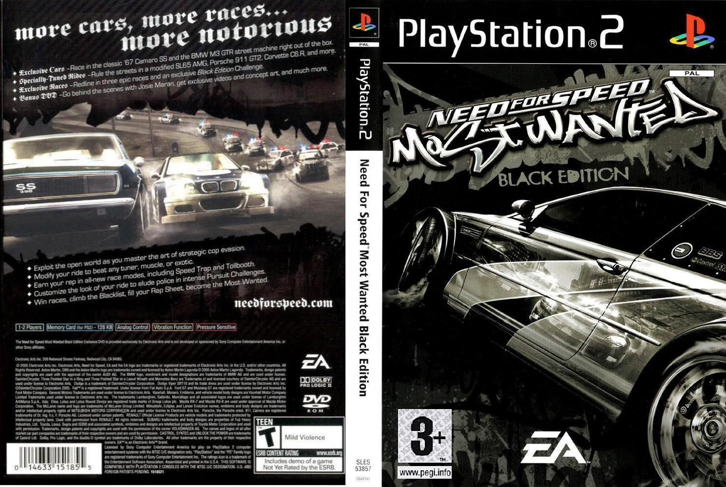 descargar need for speed most wanted black edition full espanol