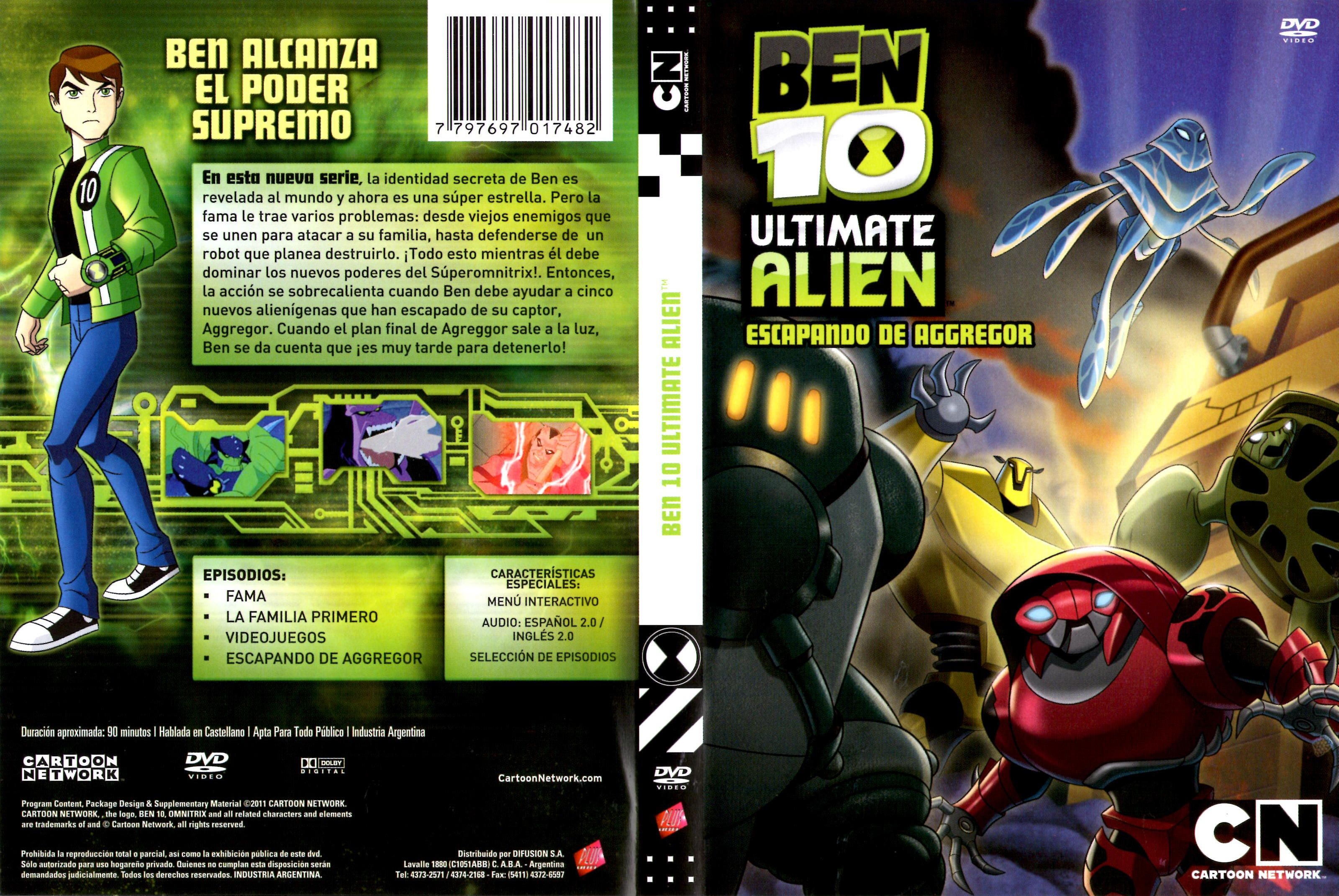Ben 10 ultimate alien season 1 dvd / Ananda mazhai movie