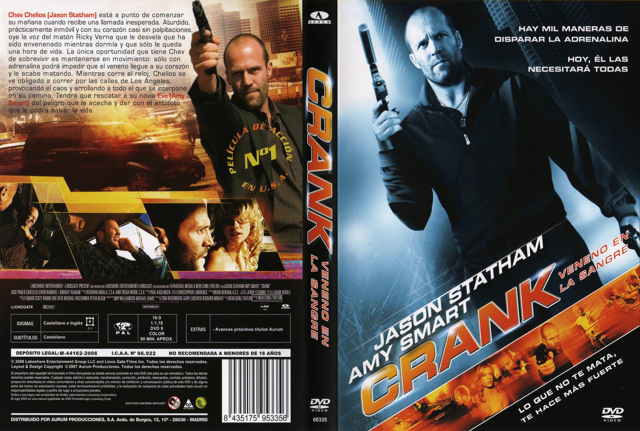 Crank 1 (2006) [Dvdrip Latino] [Zippyshare]