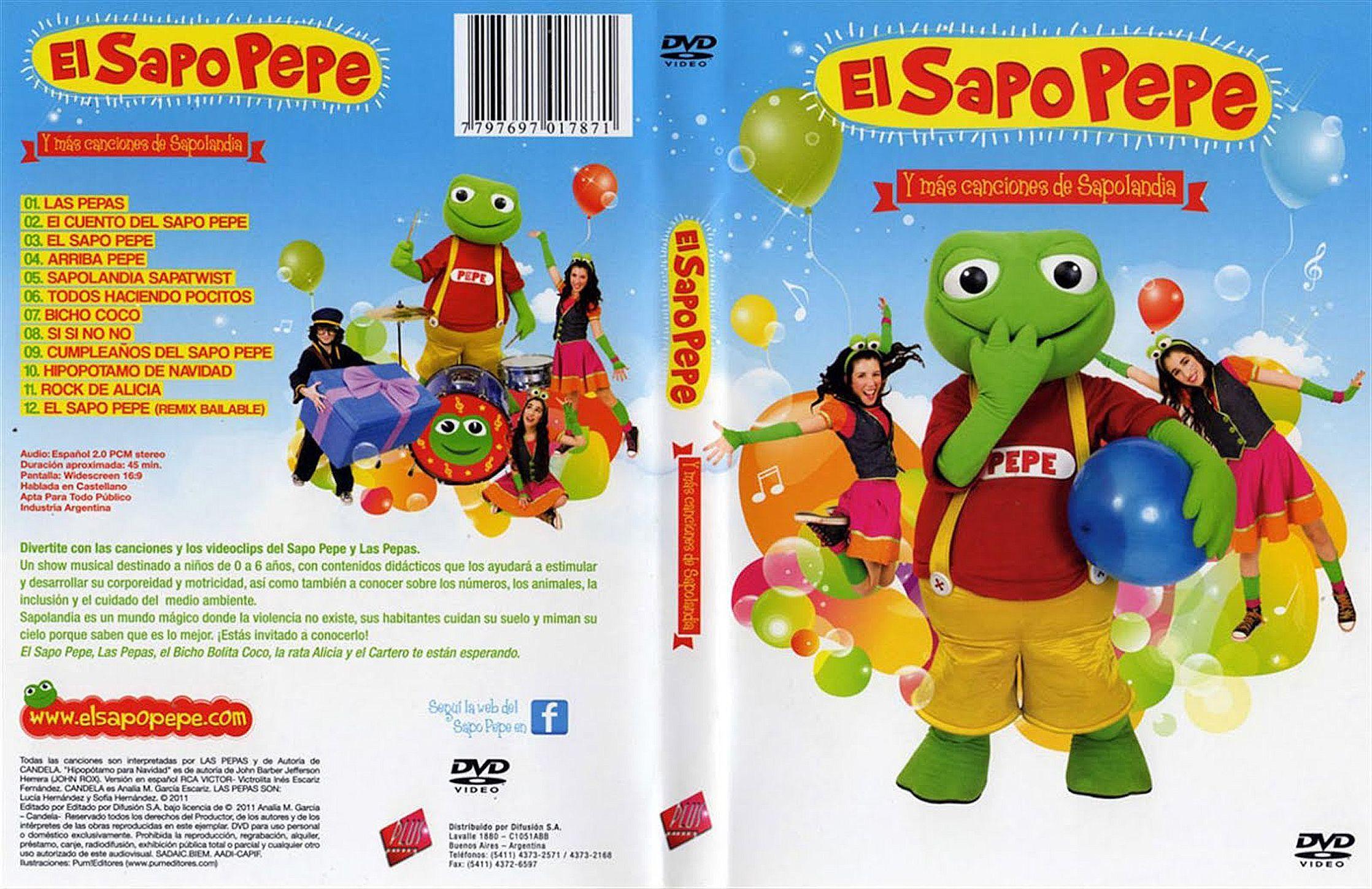 El sapo pepe descargando con manu pelis dvd full latino for Amigos del jardin