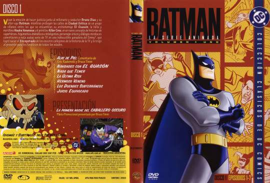 ( 0944 )  Batman ( Serie Animada ) ( Disco 1 )