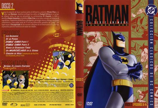 ( 0945 )  Batman ( Serie Animada ) ( Disco 2 )