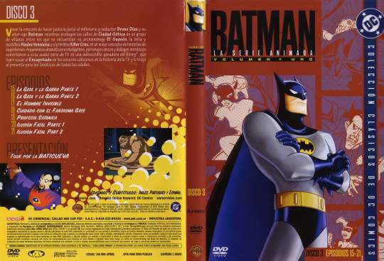 ( 0946 )  Batman ( Serie Animada ) ( Disco 3 )