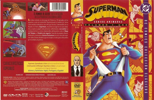( 1904 )  Superman ( Serie Animada ) ( Disco 1 )