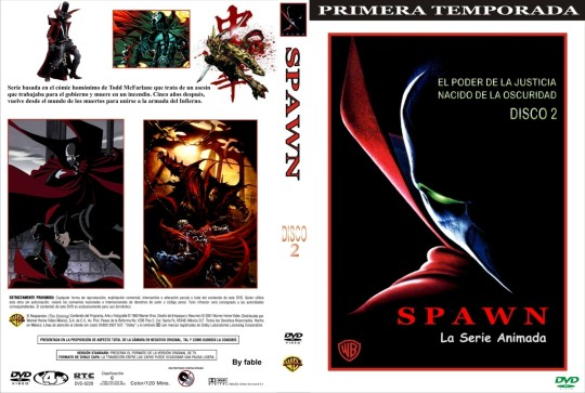 ( 2170 )  Spawn ( Temporada 1 ) ( Disco 2 )