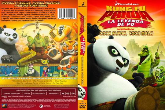 ( 11124 )  Kung Fu Panda - La Leyenda De Po