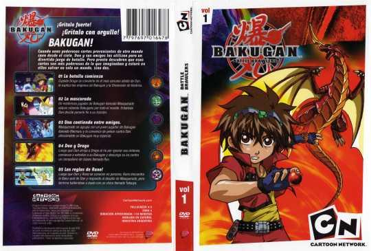 ( 11166 )  Bakugan - Volumen 01