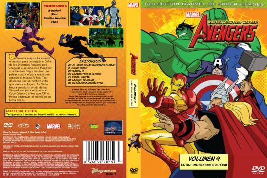 ( 11174 )  The Avengers - Volumen 4 ( Marvel )