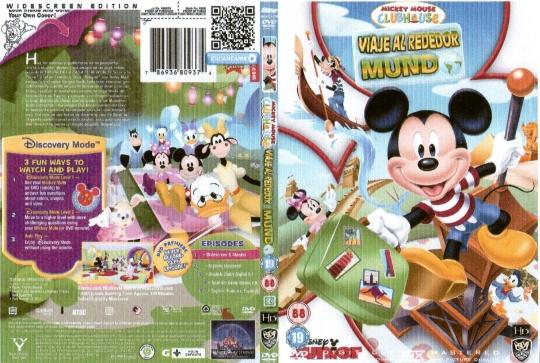 ( 11175 )  Mickey Mouse Clubhouse ( Viaje Alrededor Del Mundo )