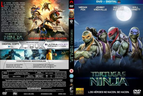Las Tortugas Ninja ( Edicion 2014 ) ( 12150 )